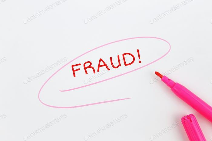 Inscription fraud