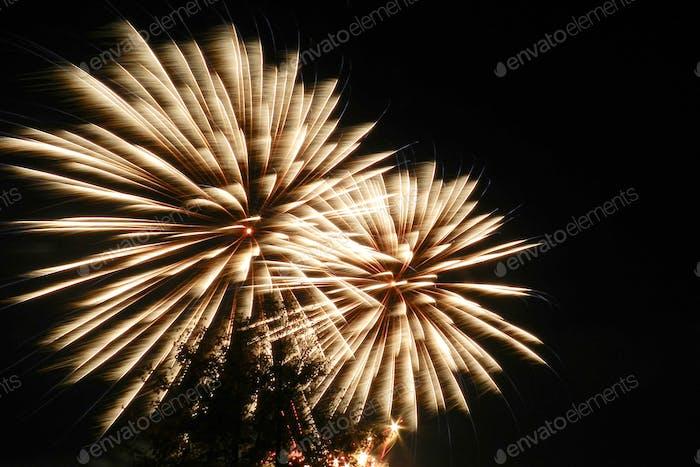Neujahrs-Feuerwerk