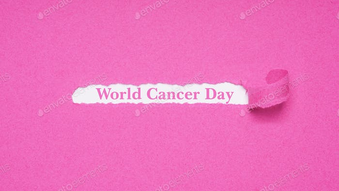 World Cancer Day on February 4