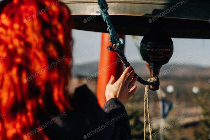 Spiritual bell redhead