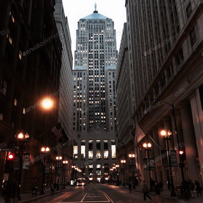 Chicago Board of Trade Gebäude.