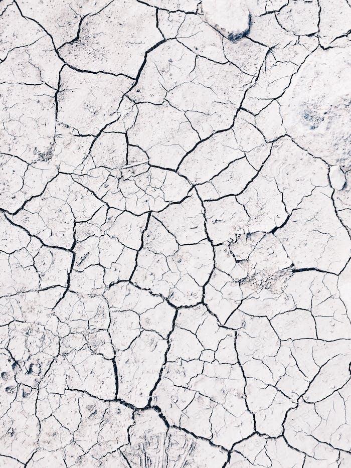 Erde und Risse