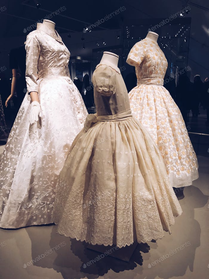Christian Dior Exhibit with Elaine Roebuck