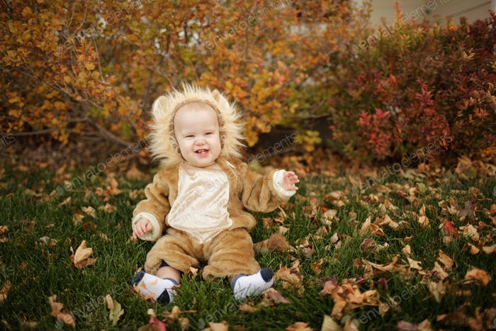 Little Lion for Halloween