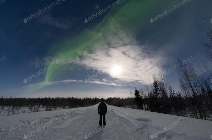 Abenteuer in einer Winternacht