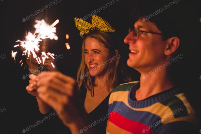 Sparklers on NYE