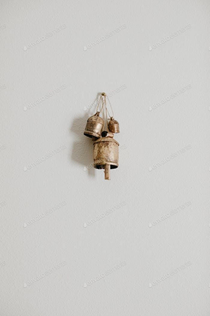 wall decor hanging bells