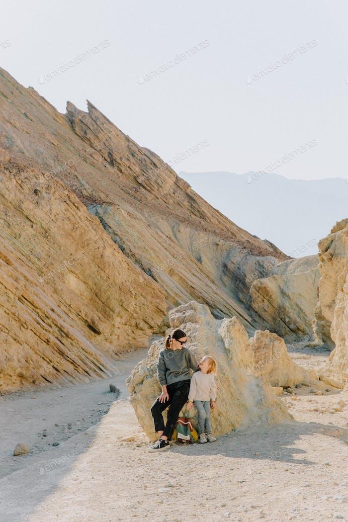 Wandern im Death Valley
