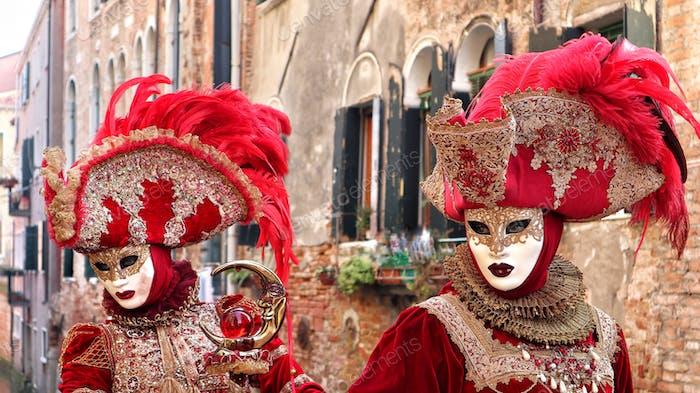 Venetian female mask