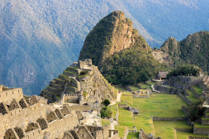 Machu Picchu, famous travel destination in Peru