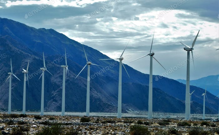 Our Earth Resources Being Saved by Wind Turbines that Generate Wind Energy as an Alternative Power