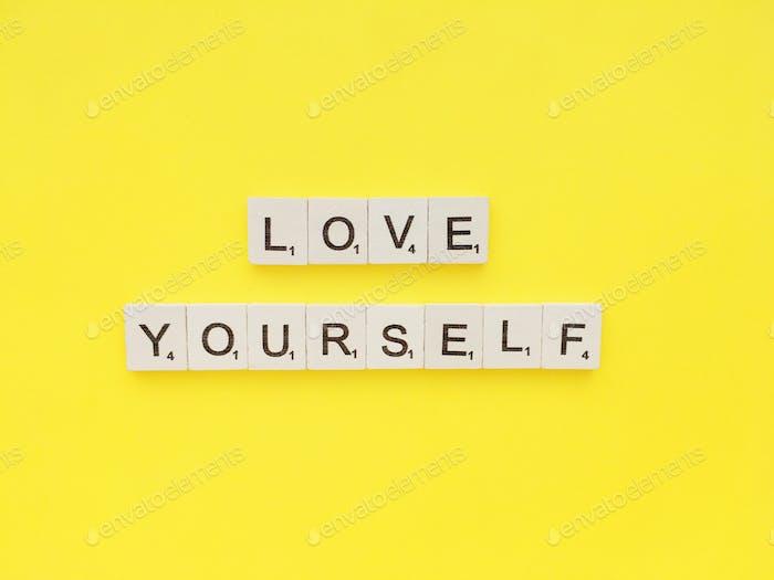 Liebe dich selbst