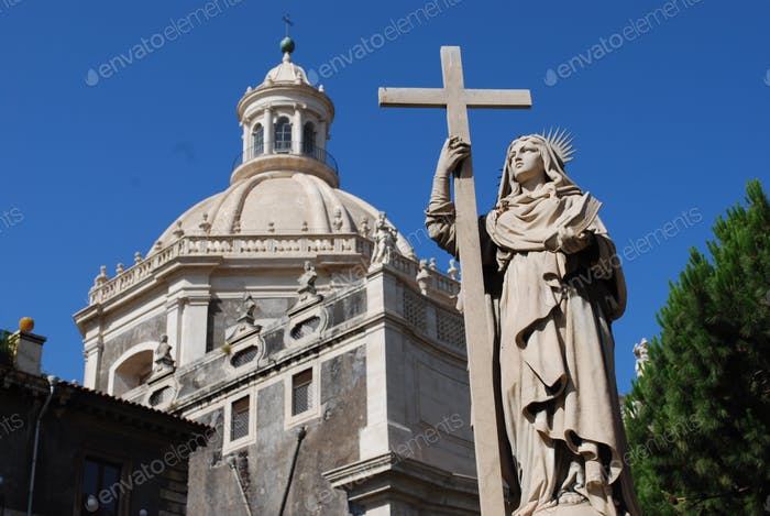 Katholische Kirche von Catania