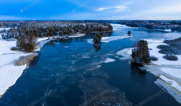 Winter at The Dal River