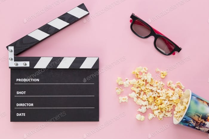 NOMINATED 🔔 black Clapper board