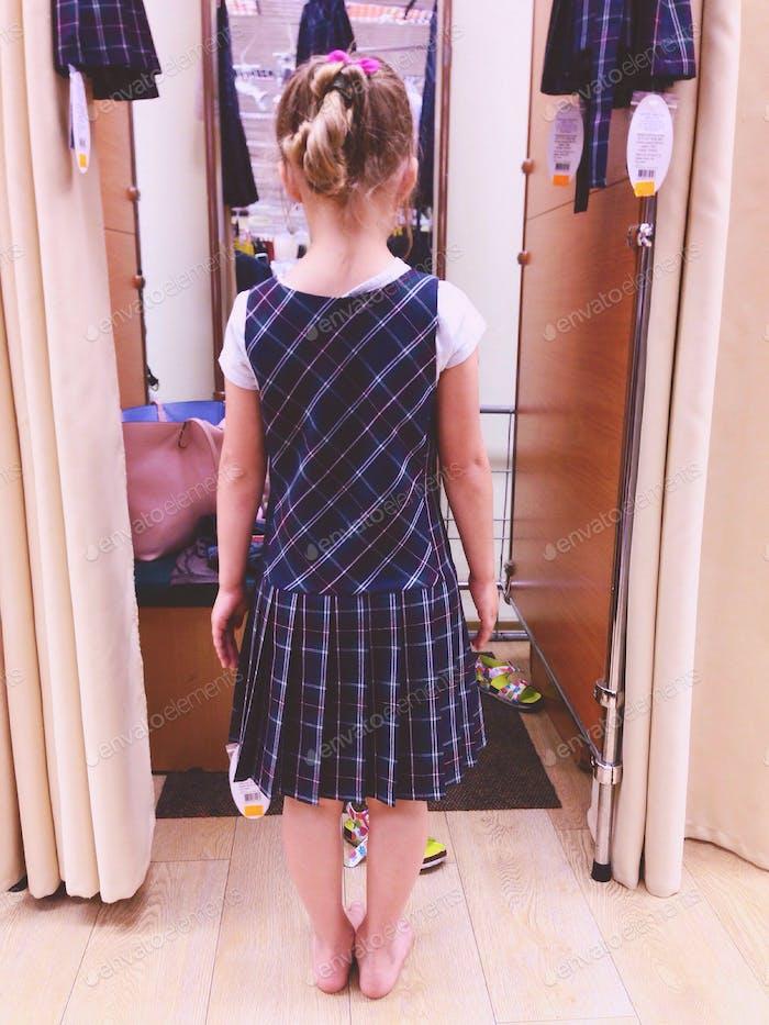 Ukrainian school uniform