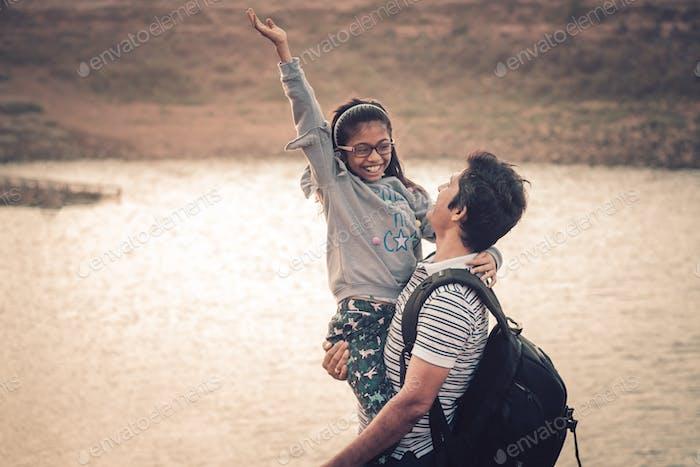 Joy of fatherhood