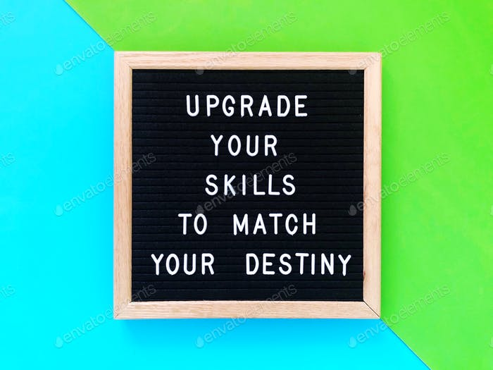 Upgrade your skills to match your destiny.