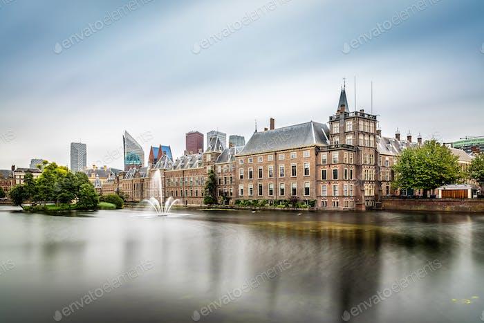 Der Binnenhof in Den Haag, Niederlande