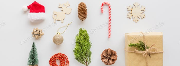 Merry Christmas xmas and happy new year 2021 web banner