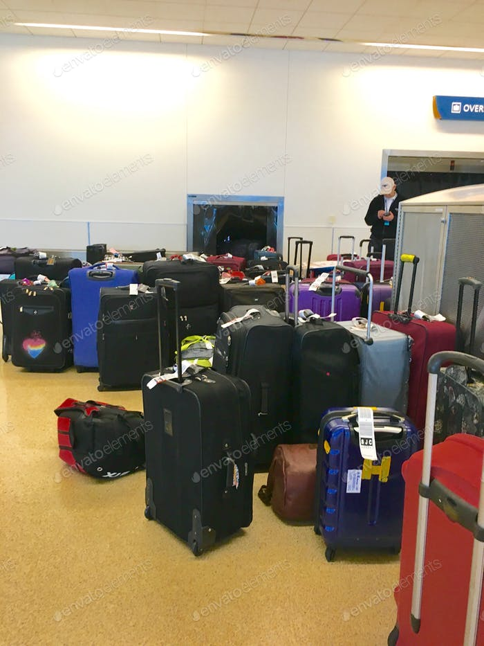 The missing bags!