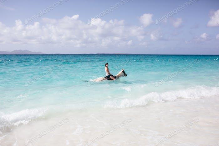 Ocean Horseback Riding.