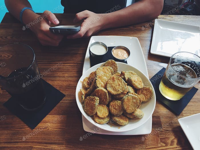 I'll never say no to fried pickles
