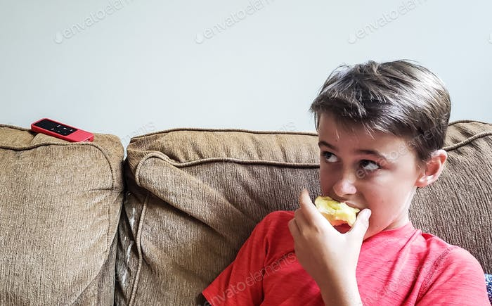 Half an apple....