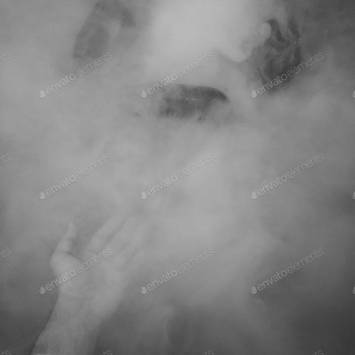 Smoke of vape. smoke overlay