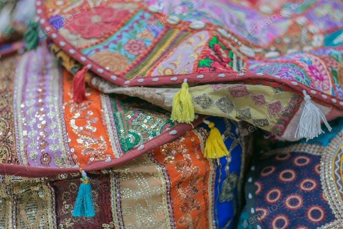 Arabic handmade embroidered cushions