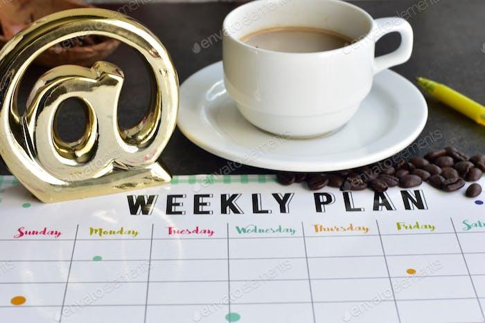 Wochen-Plan