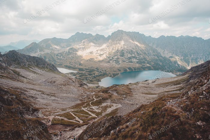 Five Lakes Valley in The Tatra Mountains