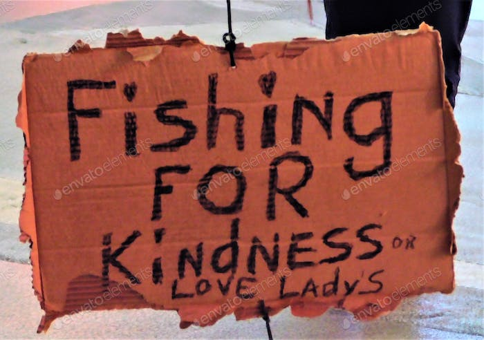 Fishing for Kindness or Love