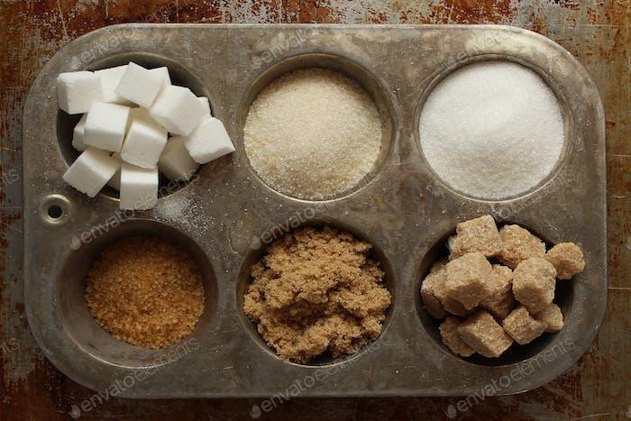 Sweet and sugary