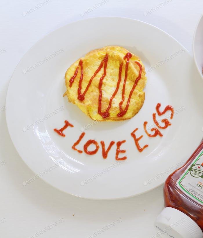 I love eggs 🍳