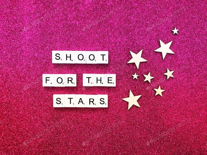 Dispara a las estrellas