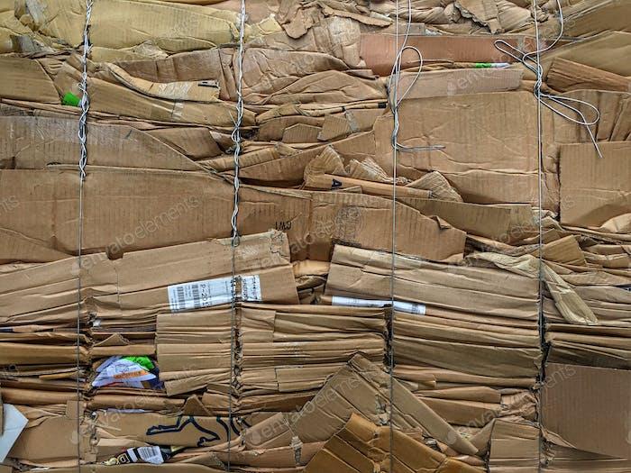 Cajas de cartón reciclado