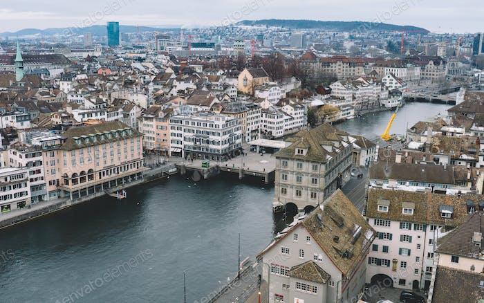 Zurich city scape