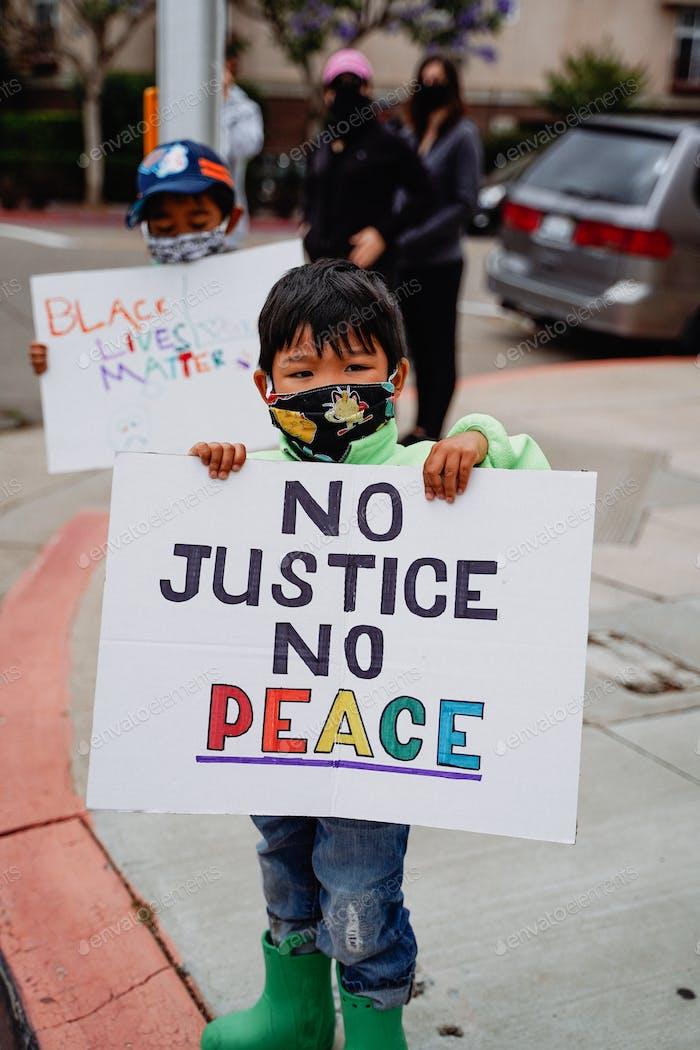Diverse activism peaceful civil unrest minority marginalized protest social justice injustice change