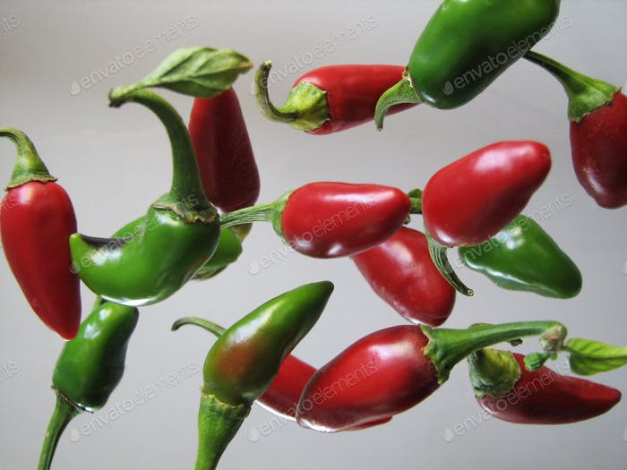 Jumping Hot Jalapeño Peppers