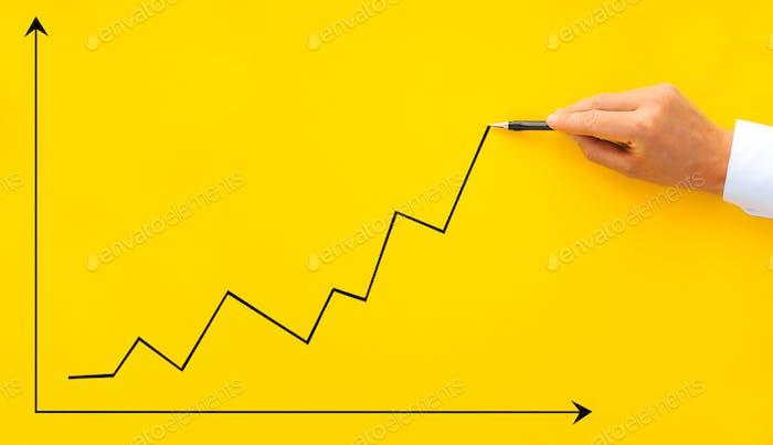 growth, business, performance, chart, success, development,  analysis, arrow, benefit, businessman