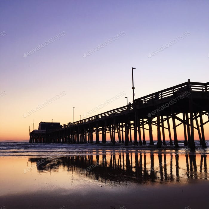 Newport Beach Pier, Newport, California 📍