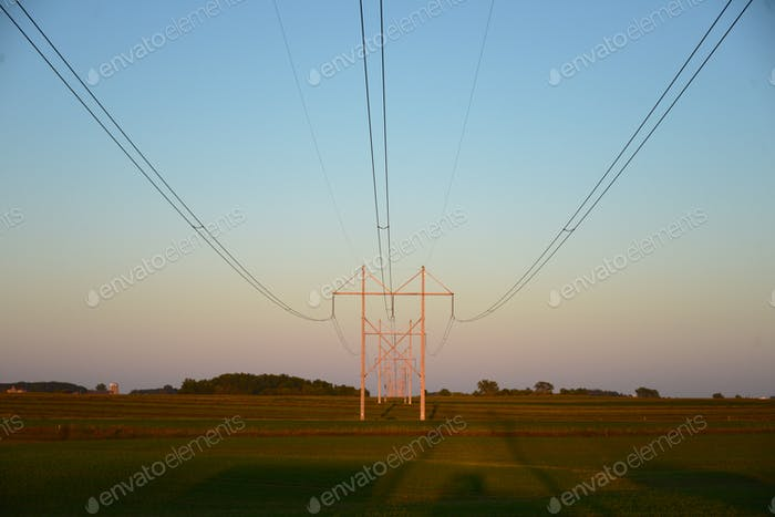 Colorful Transmission Lines