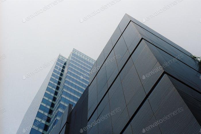 Edificios modernos.