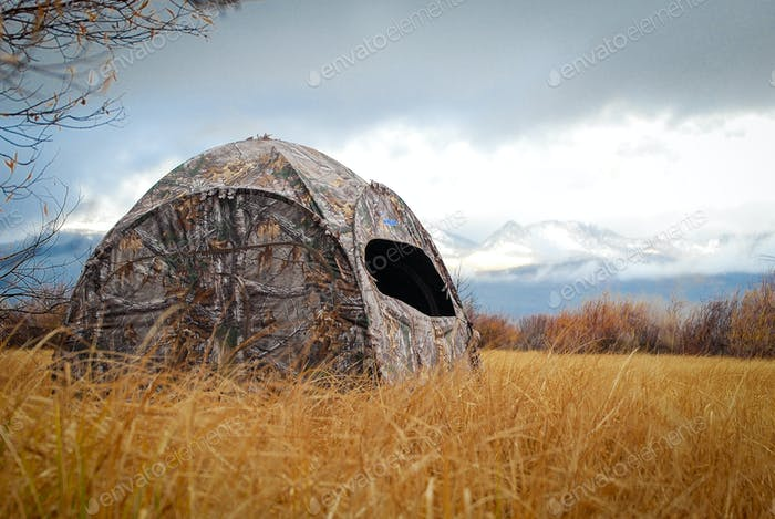 Duck hunting blind