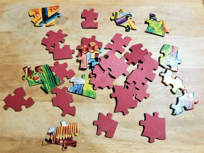 Exercise your problem brain with a puzzle