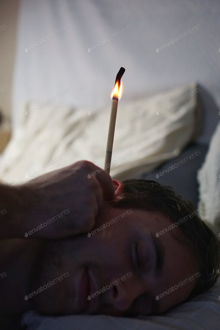 🌺Nominated🌺Candles in the ears are not the usual medicinal suppositories