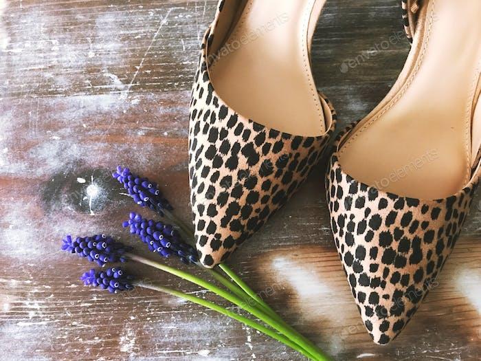 Pumps mit Leopardenmuster!