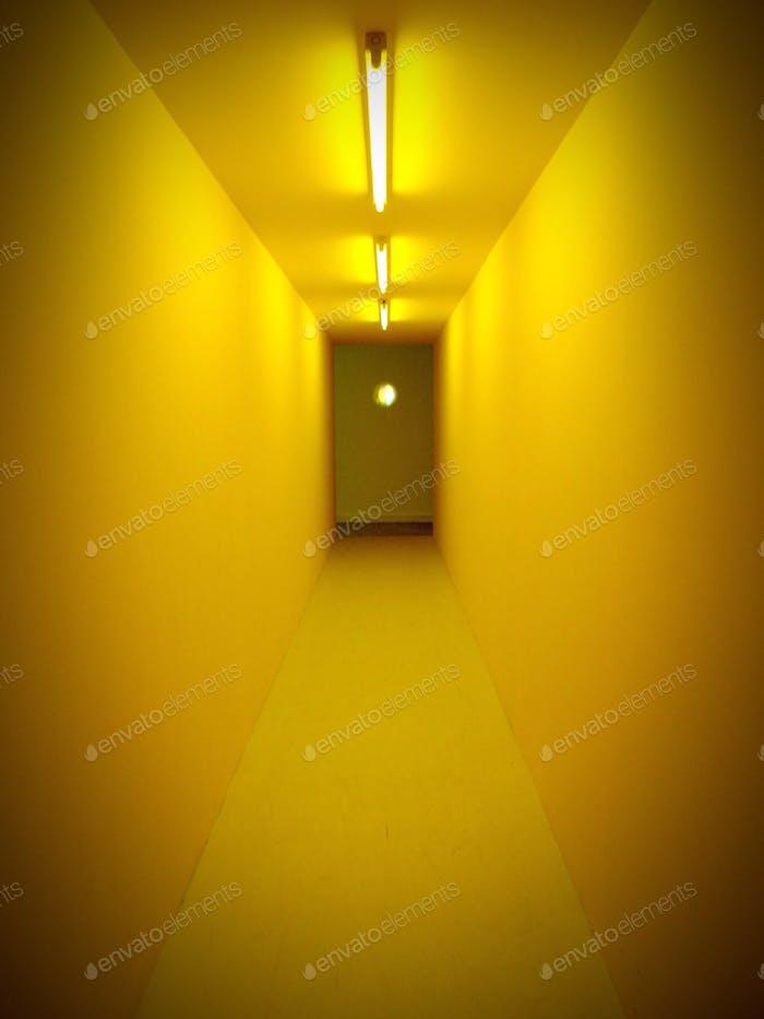 Gelbe Passage Weg