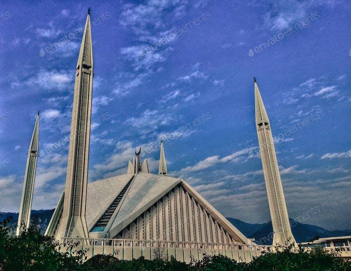 // King Faisal Mosque, Islamabad //